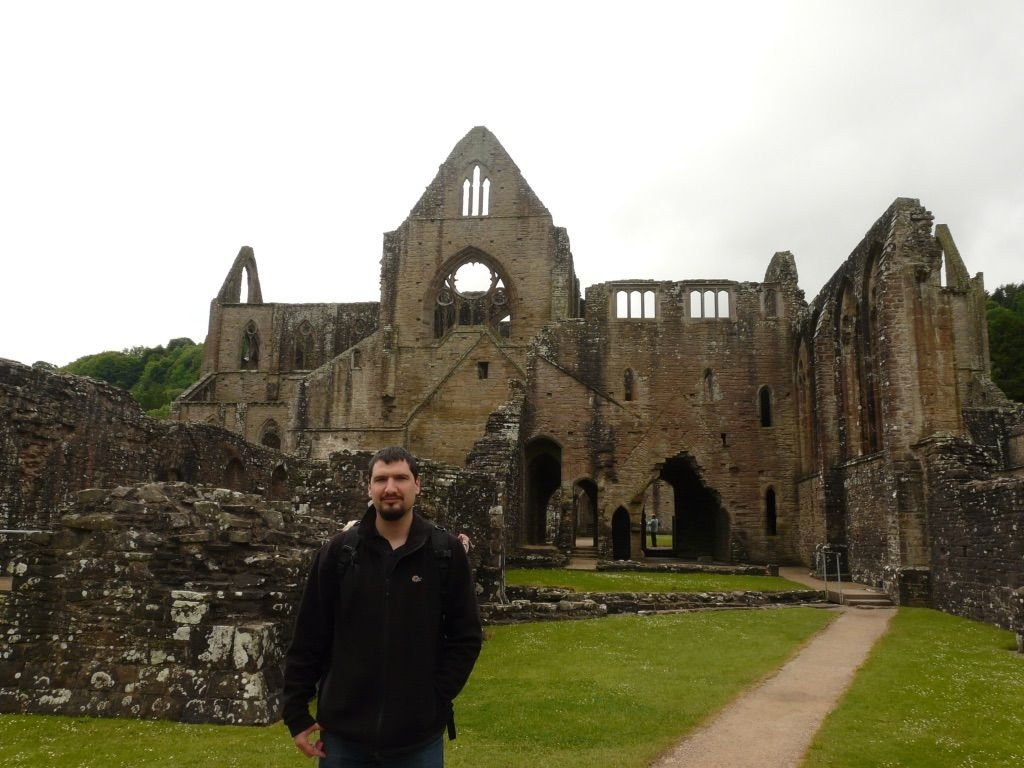 Tintern Abbey, part of my inspiration for Hafran