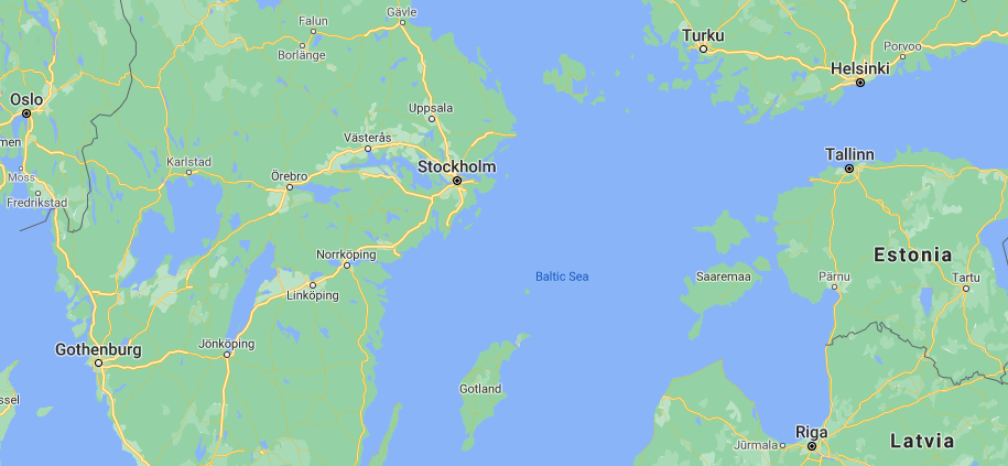 Stockholm courtesy Google Maps