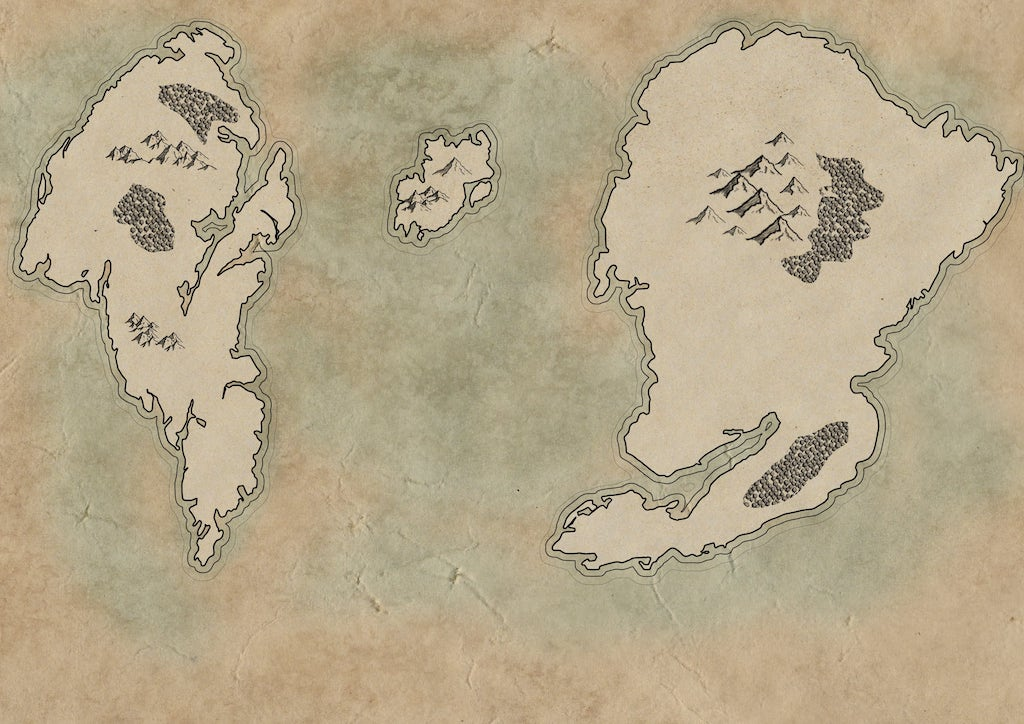 Finished map - not too shabby