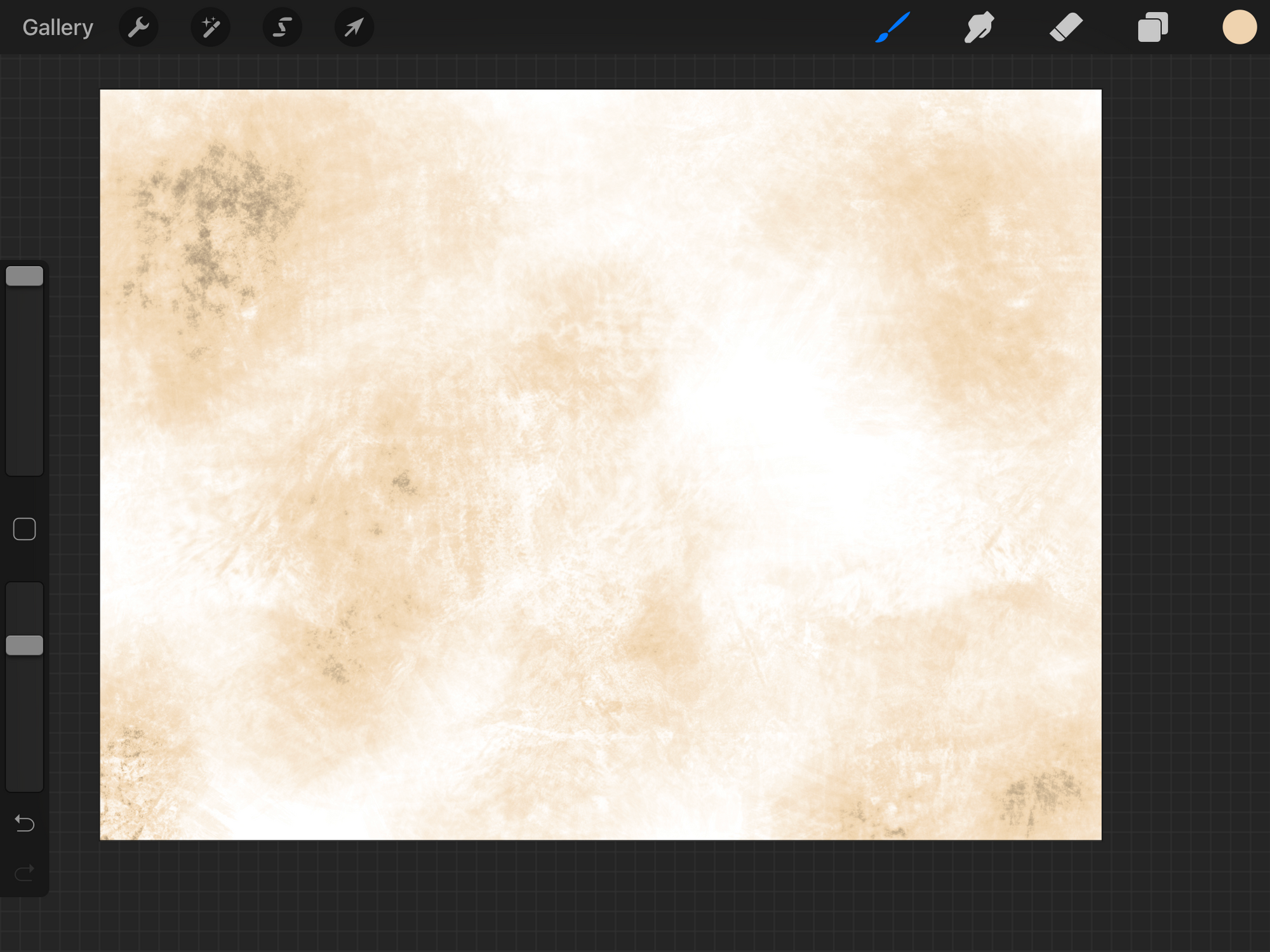 Parchment texture in procreate
