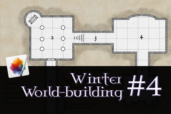 WWB #4: Mapping dungeons with Pixelmator